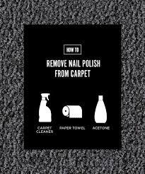 how to remove nail polish off your carpet carpet vidalondon