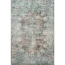 Porcelain Blue Rug Nuloom Area Rugs Rugs The Home Depot