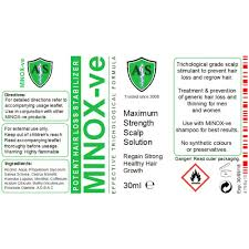 minox ve maximum strength minoxidil free hair loss regrowth scalp