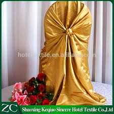 Cheap Universal Chair Covers Wedding Satin Chair Cover Source Quality Wedding Satin Chair Cover