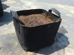 8 Pots by 247garden 8 Gallon Square Aeration Fabric Pots Planting Grow Bag W