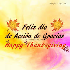 happy thanksgiving espanol festival collections