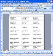 Resume On Microsoft Word 2010 Labels On Word Coinfetti Co