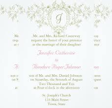 Wedding Invitation Example Wedding Invitation Etiquette 17 Psd Indesign Format Download