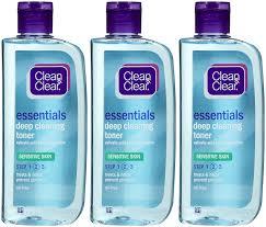amazon com clean u0026 clear deep cleaning face astringent sensitive