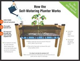 self watering planter box home design styles