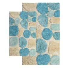 Aqua Bathroom Rugs Aqua Bath Rug
