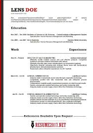 resume sles 2017 sales themes resume format 2018 16 latest templates in word