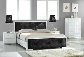 Gray Accent Wall by Contemporary Italian Bedroom Furniture Contemporary Black Mahogani