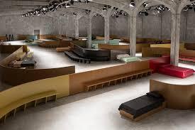 Mens Interior Design Oma Amo U0027s Domestic Interior For Prada U0027s F W Show In Milan