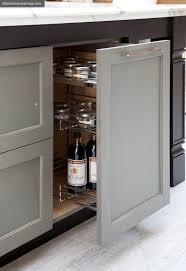 Grey Oak Kitchen Cabinets Weathered Gray Kitchen Cabinets Design Ideas