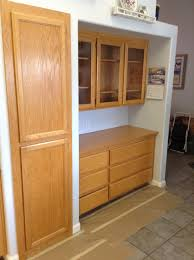 Kitchen Cabinets Veneer Refinishing Oak Cabinets The Steps Of Refinishing Kitchen