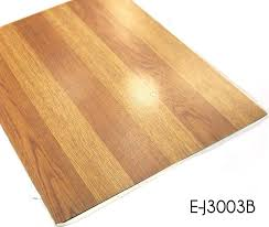 peel and stick standard size wood grain pvc tile vinyl flooring
