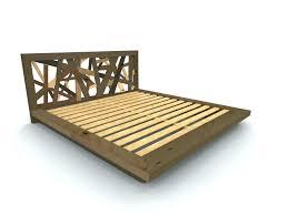 Nomad Bed Frame Platform Bed Size Platform Bed Frame Bedroom Size