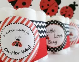 ladybug diaper cake etsy