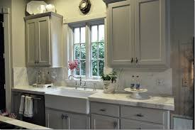 paint kitchen sink black pretty gray cabinets light counters with black appliances my