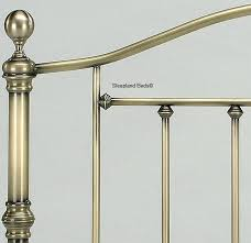 Brass Double Bed Frame Victoria Antique Brass Bed Frame By Birlea 4ft6 Double