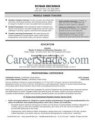 teaching resume samples lukex co