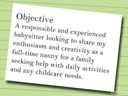 Babysitting Resumes 15 Best Babysitting Resume Advertising Images On Pinterest