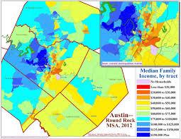 Austin Map by Does Austin U0027s Economic Segregation Threaten Its Charm Kut