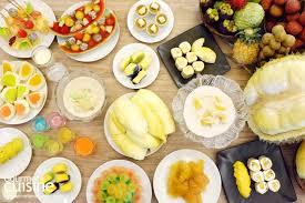 cuisine o พาไปฟ นก บ ท เร ยนฟ เวอร และบ ฟเฟต ผลไม หน งเด ยวในไทย ท โรงแรม