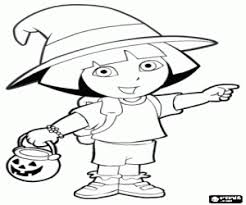 dora explorer coloring pages printable games 2 1763