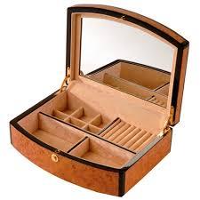 personalized wooden jewelry box light wood jewelry box wood veneered jewellery box with