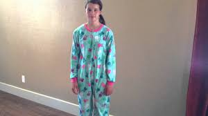 skull footed pajamas for