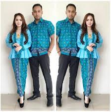 gambar model baju batik modern model baju batik couple modern terbaru styles kekinian