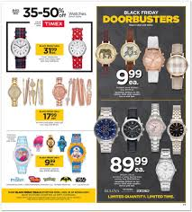 watches black friday black friday 2016 kohl u0027s ad scan buyvia
