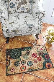 Boho Area Rugs Boho Area Rugs Retro Floral Memorecool Home Living