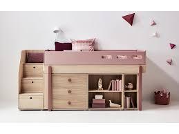 Gebraucht Schlafzimmer Komplett In K N Flexa Popsicle Midisleeper Mit Stauraum Treppe Cherry 90x200cm