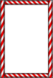 frame clipart candy cane pencil and in color frame clipart candy
