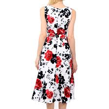 dreagal vintage 1950 u0027s floral spring garden party picnic dress