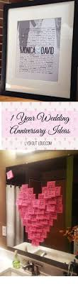 one year anniversary gift ideas for 1st anniversary gift anniversary gift for husband or