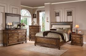 arielle oak 4pc california king bedroom set 24434ck
