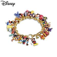 charm bracelet jewelry images Officially licensed disney ultimate 37 character gold plated 0,0,0