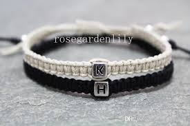 bracelet with initials custom initials bracelets his and hers valentines day gifts