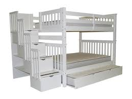 Bunk Bed With Stairs And Trundle Bedroom Captivating Stairs U0026 Trundle Picture Of Fresh On