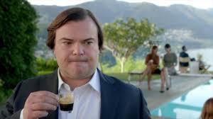 nespresso commercial actress jack black george clooney jack black endorse trump steaks commercial 2