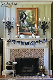 Southern Home Decor Holiday Decor Challenge Halloween Mantel Our Southern Home