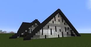 a frame house pictures modern u0027a frame u0027 house creative mode minecraft java edition