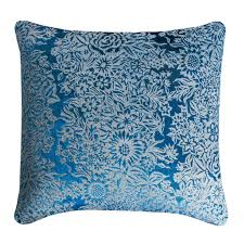 Kevin OBrien Studio Garland Metallic Velvet Decorative Pillows