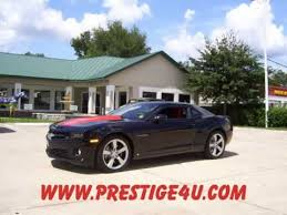 2010 camaro 2ss rs package black 2010 chevy camaro with 2ss rs packages in ocala