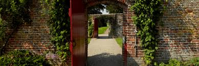 the walled garden east yorkshire sledmere house stately home