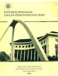 format proposal disertasi ugm buku petunjuk penulisan usulan penelitian tesis master in urban