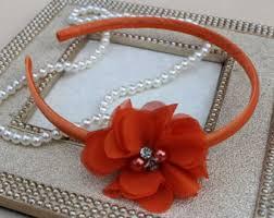 port orange florist navy blue headbands navy blue flower girl headbands