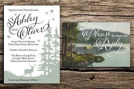 forest wedding invitations wedding invitations factory made