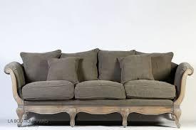 boutique de canapé canapé pompadour taupe classique style rétro la boutique