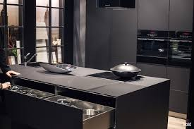 modern black kitchen cabinets embracing darkness 20 ways to add black and gray to your